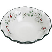 Pfaltzgraff® Winterberry Scalloped Pasta Bowl