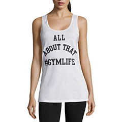 Chin-up Tank Top-Juniors