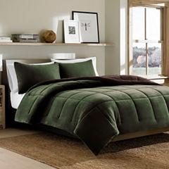 Eddie Bauer Reversible Premium Fleece Comforter Set