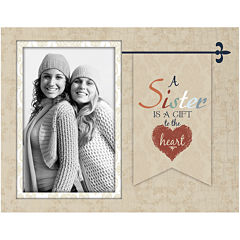 A Sister is a Gift to the Heart Wall Frame