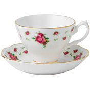 Royal Albert® White Vintage Teacup and Saucer Set