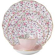 Royal Albert® Rose Confetti Vintage 5-pc. Dinnerware Set