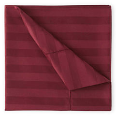 Royal Velvet® 500tc Set of 2 Wrinkle-Free Damask Stripe Pillowcases