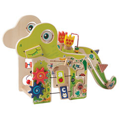 Manhattan  Toy Baby Playful Dino Wooden Activity Center
