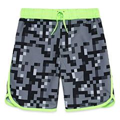 Arizona Boys Camouflage Swim Trunks-Preschool