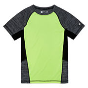Xersion Short Sleeve T-Shirt-Big Kid Boys