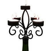 Epicureanist™ Wine Bottle Candelabra