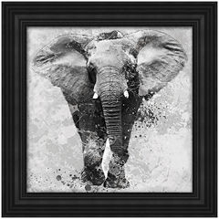 Elephant Framed Wall Art