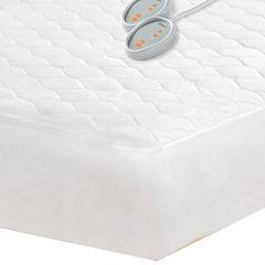 Beautyrest™ Cotton Blend Heated Mattress Pad