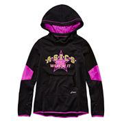 Asics® Long-Sleeve Fleece Hoodie – Girls 7-16