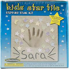 Kids Star Tile Stepping Stone Kit