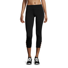 Flirtitude Performance Crop Pants-Juniors