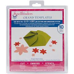 Spellbinders™ Grand Calibur® Dies, 10-pc. Hexagon Petal Envelope Set