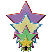 Spellbinders™ Nestabilities® Die, 5-pc. Stars Set