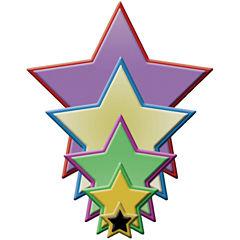 Spellbinders™ Nestabilities® Die, 5-pc. Stars Set