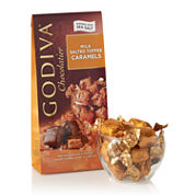 Godiva Milk Chocolate Salt Toffee Caramels