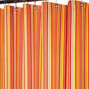 Park B. Smith® Strings Stripe Fabric Shower Curtain