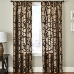 95 inch brown sheer curtains for window - jcpenney
