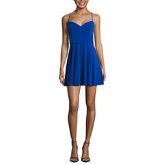 By&By Byer Sleeveless A-Line Dress-Juniors