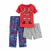Carter's Boys 3 pc. One Piece Pajama-Baby