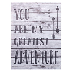 Trend Lab My Greatest Adventure Canvas Wall Art