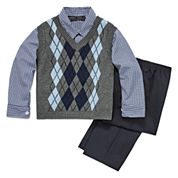 Andrew Fezze Boys Suit Set-Big Kid