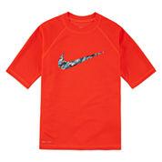 Nike® Dri-FIT Swoosh Rash Guard - Boys 8-20