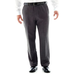 Stafford® Travel Microfiber Pants–Big & Tall