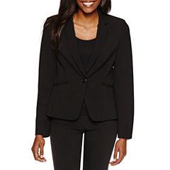 Chelsea Rose Long Sleeve 1-Button Suit Jacket