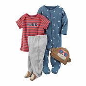 Carter's Boys 4-pc. Pant Set-Baby