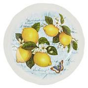 JCPenney Home™ Italian Lemons Round Serving Platter