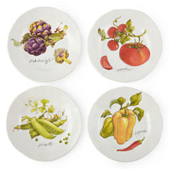 JCPenney Home™ Veggies Set of 4 Salad Plates
