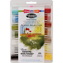 Stampendous 14-pk. Multicolor Embossing Powders
