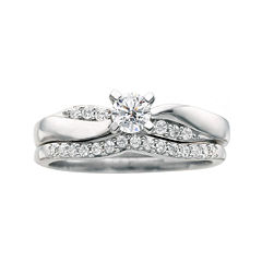 tw certified diamond bridal ring set - Jcpenney Wedding Ring Sets