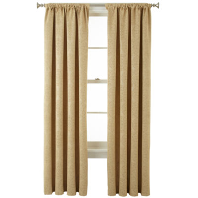 Home Expressions™ Beckley Blackout Rod Pocket Curtain Panel