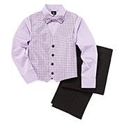 Steve Harvey® 4-pc. Vest Set - Boys 8-20