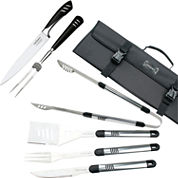 Top Chef® 7-pc. Stainless Steel Grilling & Carving Knife Set