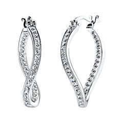 Crystal Sophistication™ Crystal-Accent Twist Earrings