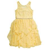 Emily West Sleeveless Fit & Flare Dress - Big Kid Girls Plus