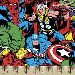 Marvel Comic Pack Cotton Fabric