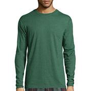 Stafford® Long-Sleeve Tee - Big & Tall