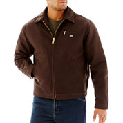 Dickies® Mid-Weight Blanket-Lined Duck Jacket–Big & Tall
