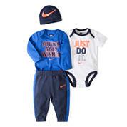 Nike Boys 4-pc. Bodysuit Set-Baby