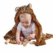 Cheetah Hooded Blanket