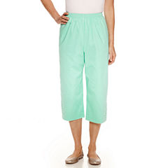 Alfred Dunner Mint To Be Capris