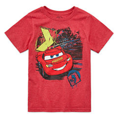 Disney Cars Graphic T-Shirt-Big Kid Boys