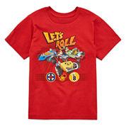 Disney MM Roadster Racer  Graphic T-Shirt-Big Kid Boys