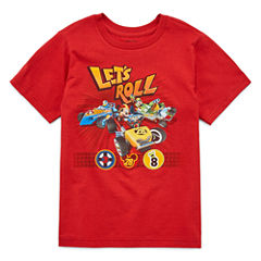 Disney MM Roadster Racer  Graphic T-Shirt-Big Kid Boys