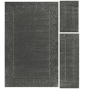 JCPenney Home™ Majestic Scroll Border 3-pc. Rug Set