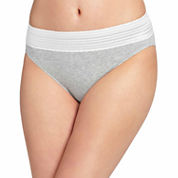 Warner's No Pinches Hi-Cut Lace Brief Cotton - RT2091P